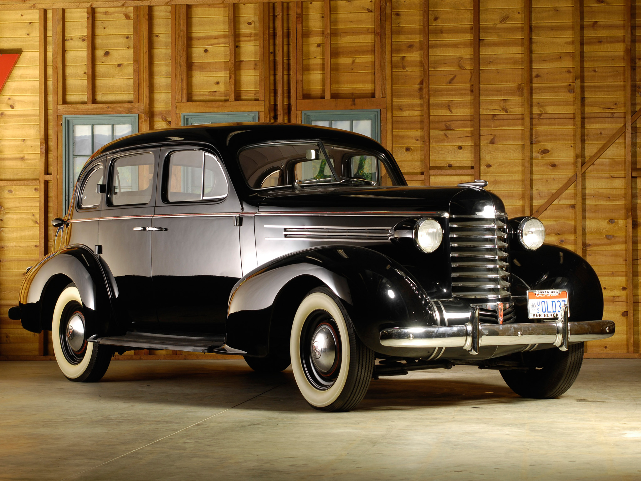 1937 oldsmobile six 4 door touring sedan f37 retro