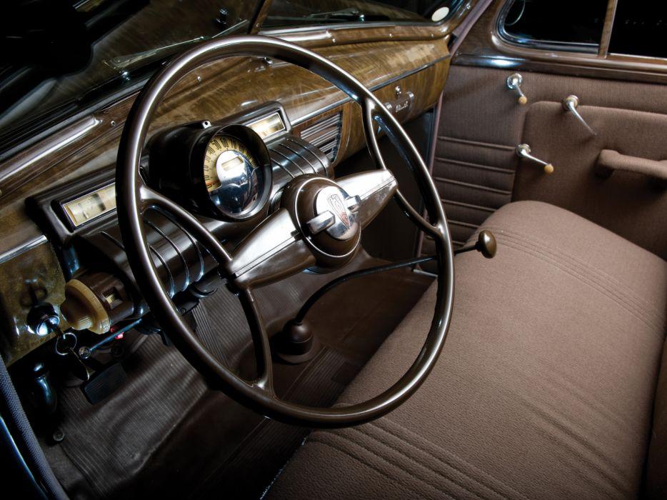 1938 Oldsmobile Six Touring Sedan (F38) retro interior     g wallpaper