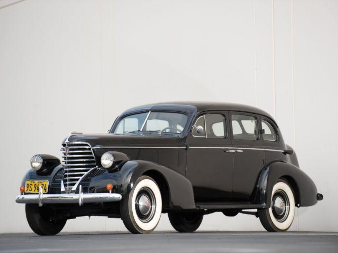 1938 Oldsmobile Six Touring Sedan (F38) retro wallpaper