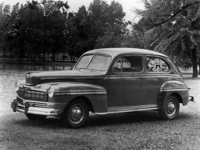 1946 Mercury 2-door Sedan (69M-70) retro wallpaper
