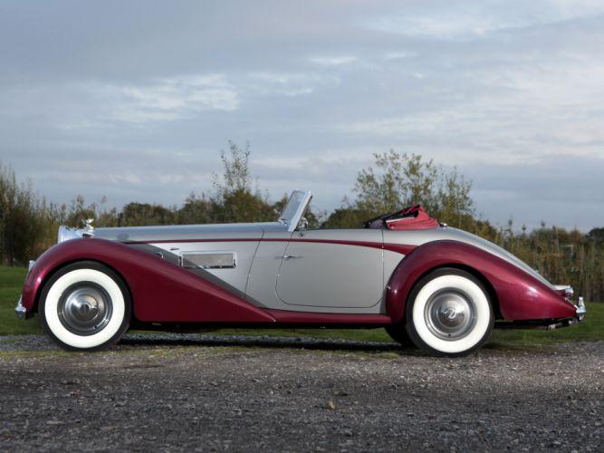 1949 Bentley Mark VI 6 Drophead Coupe (B122DA) retro luxury conertible d wallpaper