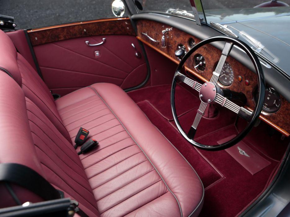 1949 Bentley Mark VI 6 Drophead Coupe (B122DA) retro luxury conertible interior     f wallpaper