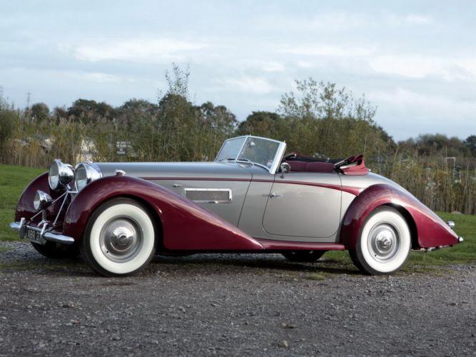 1949 Bentley Mark VI 6 Drophead Coupe (B122DA) retro luxury conertible f wallpaper
