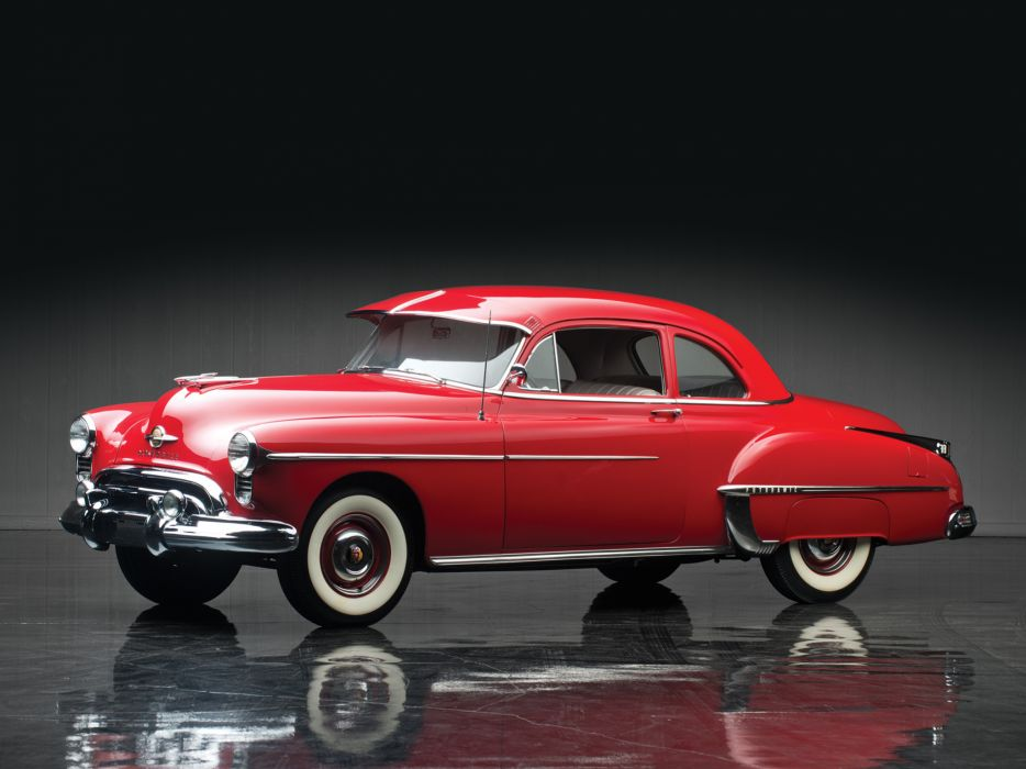 1950 Oldsmobile Futuramic 88 Club Coupe (3727) retro 8-8  h wallpaper