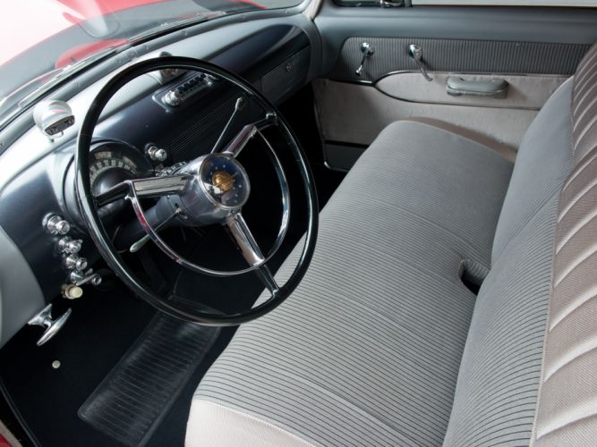 1950 Oldsmobile Futuramic 88 Club Coupe (3727) retro 8-8 interior h wallpaper