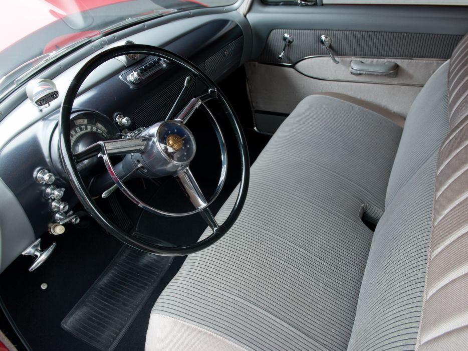 1950 Oldsmobile Futuramic 88 Club Coupe (3727) retro 8-8 interior        h wallpaper