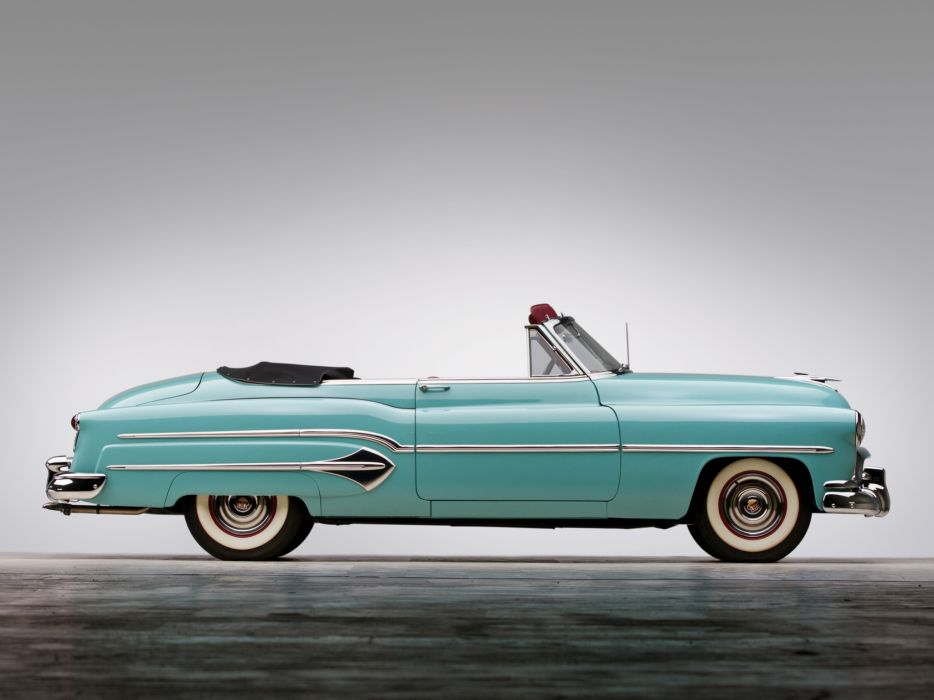 1951 Oldsmobile 98 Convertible retro 9-8   h wallpaper