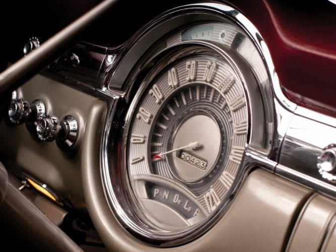 1953 Oldsmobile 98 Convertible (3067DX) retro 9-8 interior i wallpaper