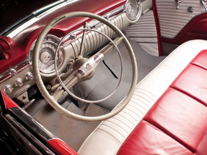1953 Oldsmobile 98 Convertible (3067DX) retro 9-8 interior j wallpaper