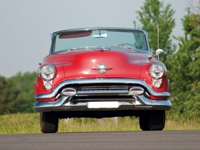 1953 Oldsmobile 98 Convertible (3067DX) retro 9-8 t wallpaper