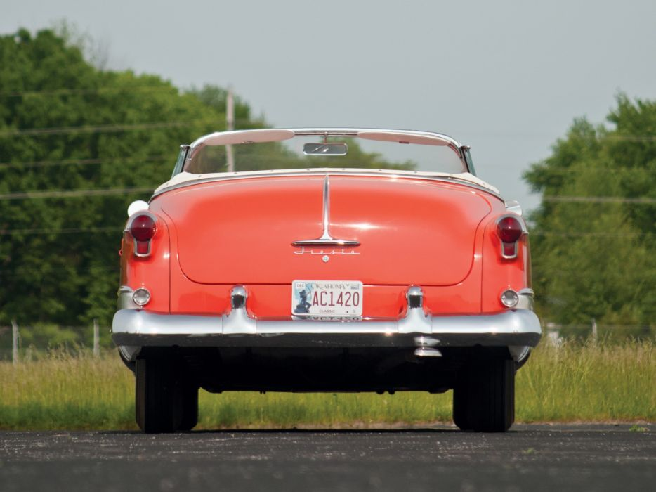 1953 Oldsmobile 98 Fiesta Convertible (3067SDX) retro 9-8 luxury      y wallpaper