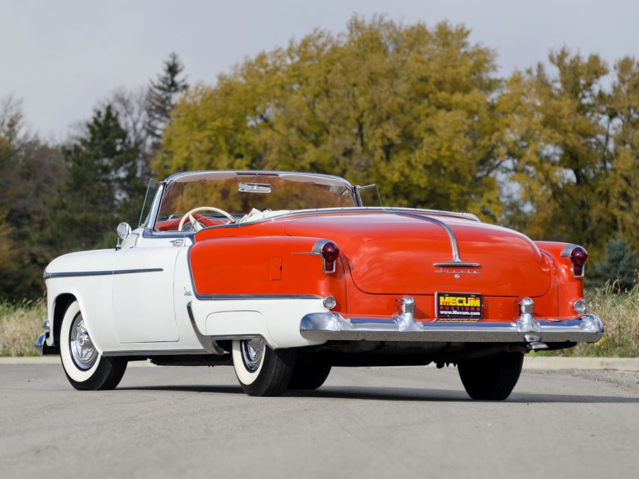 1953 Oldsmobile 98 Fiesta Convertible (3067SDX) retro 9-8 luxury  h wallpaper