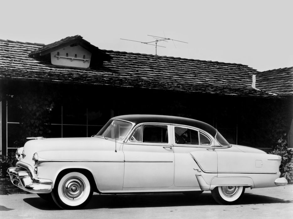 1953 Oldsmobile 98 Sedan (3069D) retro 9-8 wallpaper