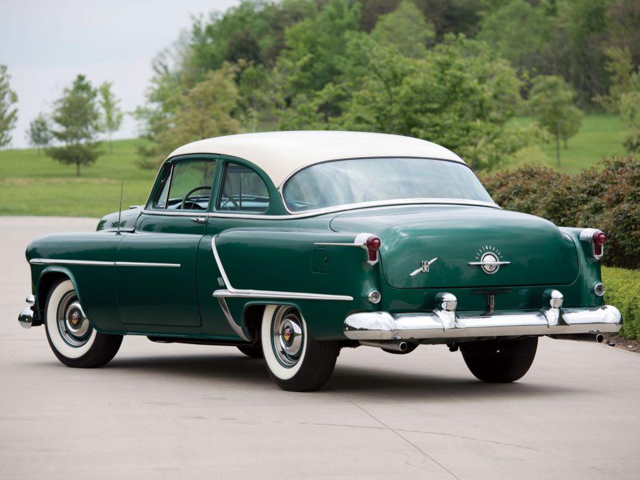 1953 Oldsmobile 98 Holiday Coupe Houston Texas - YouTube