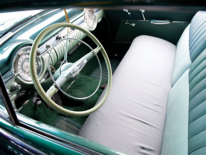 1953 Oldsmobile Super 88 Deluxe 2-door Sedan (53-3611D) retro 8-8 interior h wallpaper