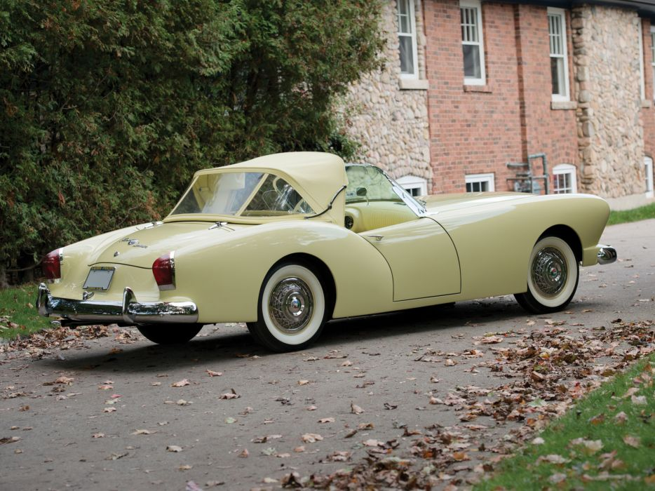 1954 Kaiser Darrin Convertible retro luxury     h wallpaper