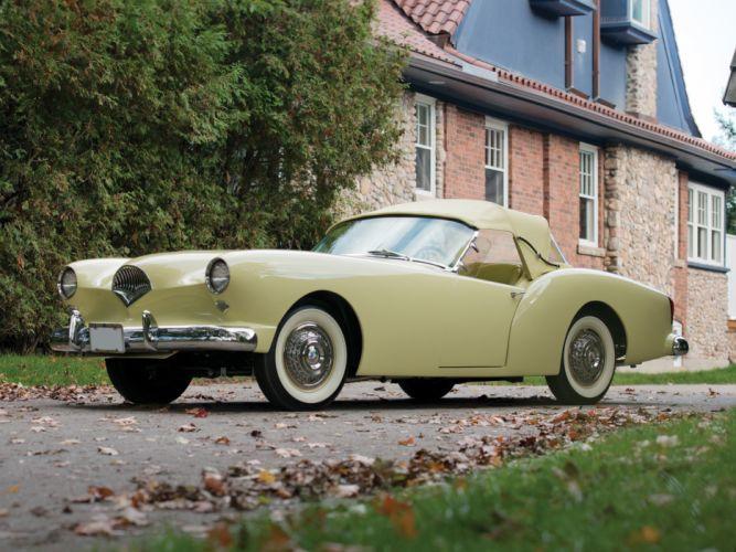 1954 Kaiser Darrin Convertible retro supercar wallpaper