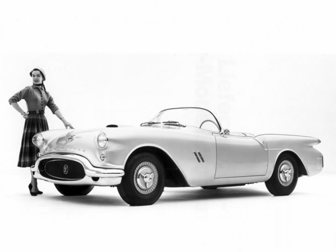 1954 Oldsmobile F88 Concept retro g wallpaper