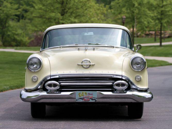 1954 Oldsmobile Super 88 Holiday Coupe retro 8-8 e wallpaper