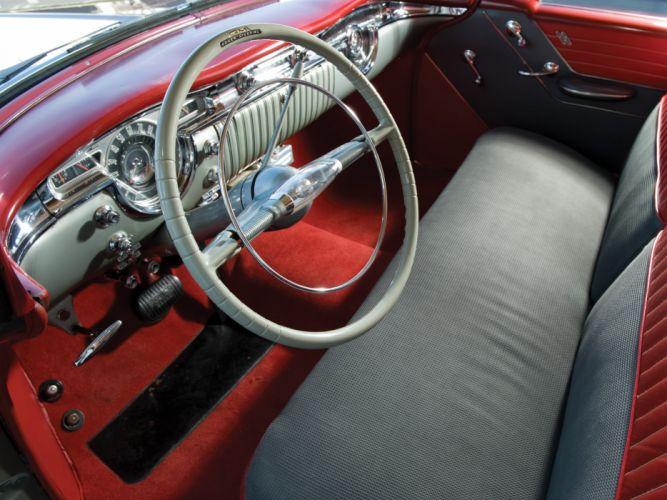 1954 Oldsmobile Super 88 Holiday Coupe retro 8-8 interior g wallpaper