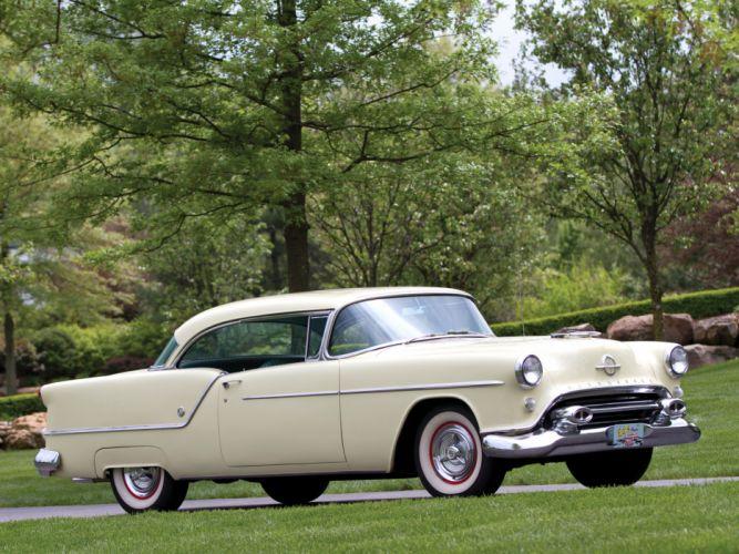 1954 Oldsmobile Super 88 Holiday Coupe retro 8-8 j wallpaper