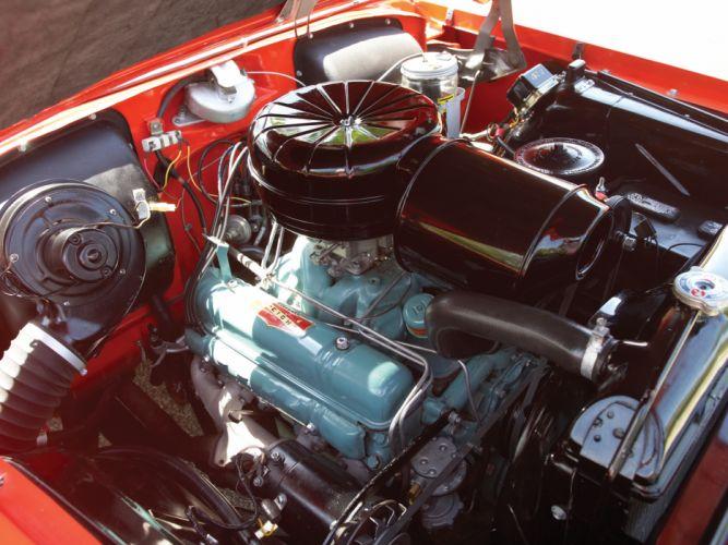 1955 Buick Century Convertible (66C) retro engine g wallpaper