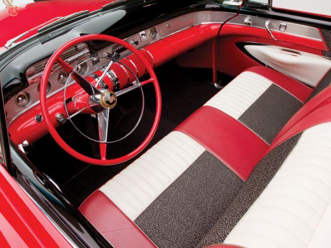 1955 Buick Roadmaster Convertible retro luxury interior g wallpaper