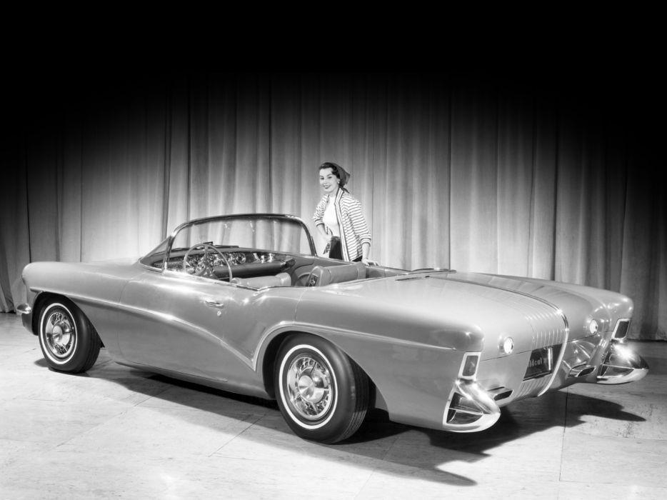 1955 Buick Wildcat-III Concept retro wildcat  f wallpaper