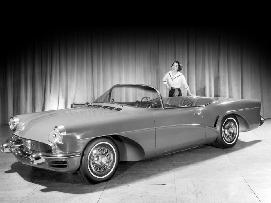1955 Buick Wildcat-III Concept retro wildcat wallpaper
