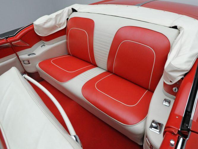 1955 Oldsmobile 98 Starfire Convertible (3067DX) luxury retro 9-8 interior g wallpaper