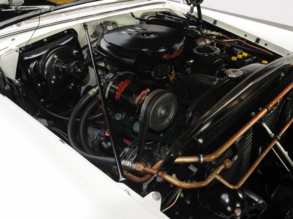 1955 Oldsmobile 98 Starfire Convertible (3067DX) luxury retro 9-8 engine   h wallpaper
