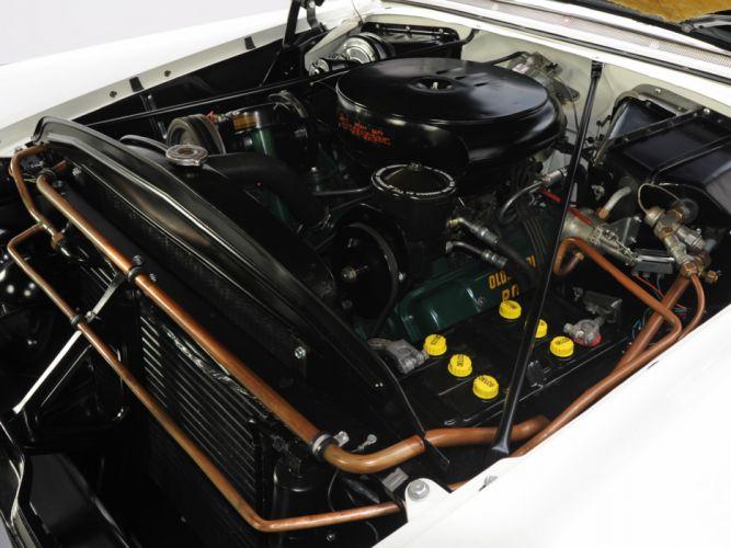 1955 Oldsmobile 98 Starfire Convertible (3067DX) luxury retro 9-8 engine y wallpaper