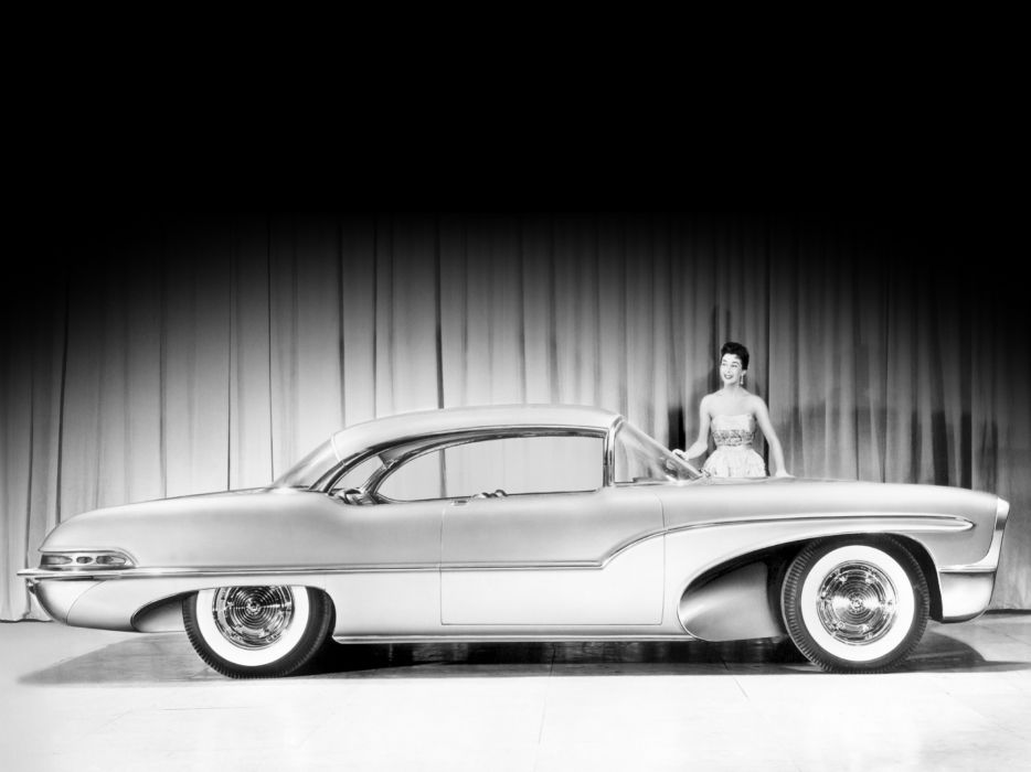 1955 Oldsmobile Delta 88 Concept retro 8-8  f wallpaper