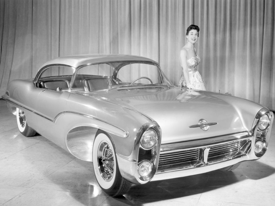 1955 Oldsmobile Delta 88 Concept retro 8-8 wallpaper