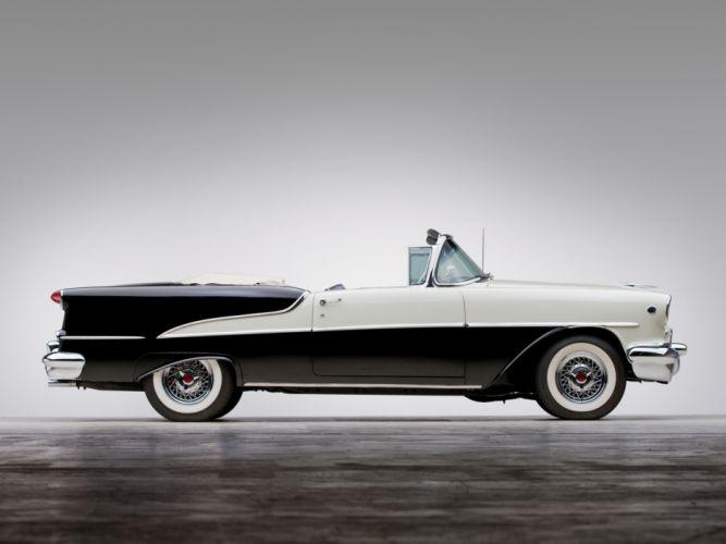 1955 Oldsmobile Super 88 Convertible (3667DTX) retro luxury 8-8 g wallpaper
