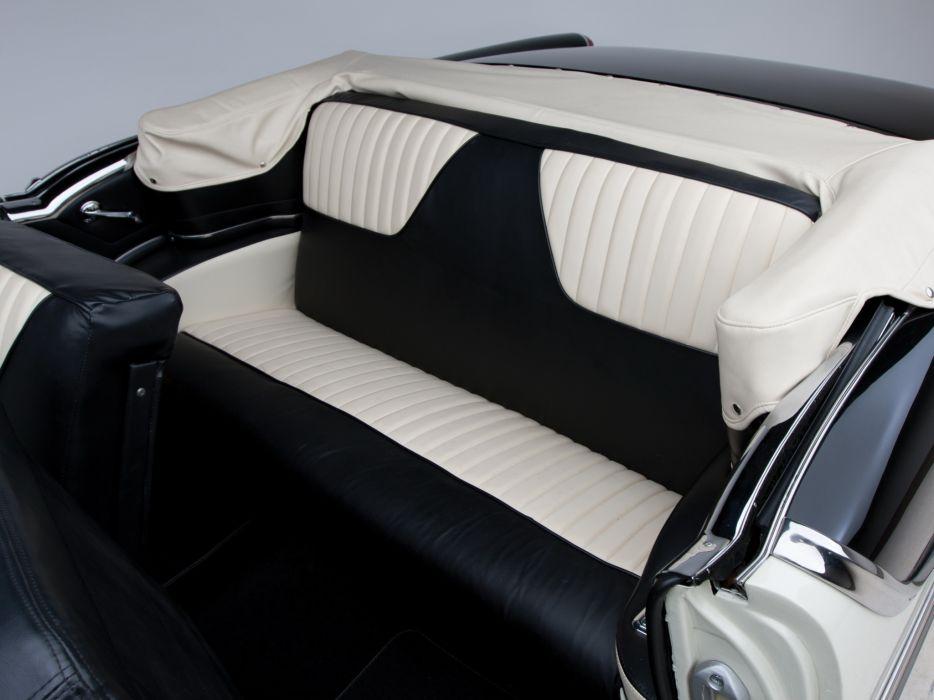 1955 Oldsmobile Super 88 Convertible (3667DTX) retro luxury 8-8 interior   g wallpaper