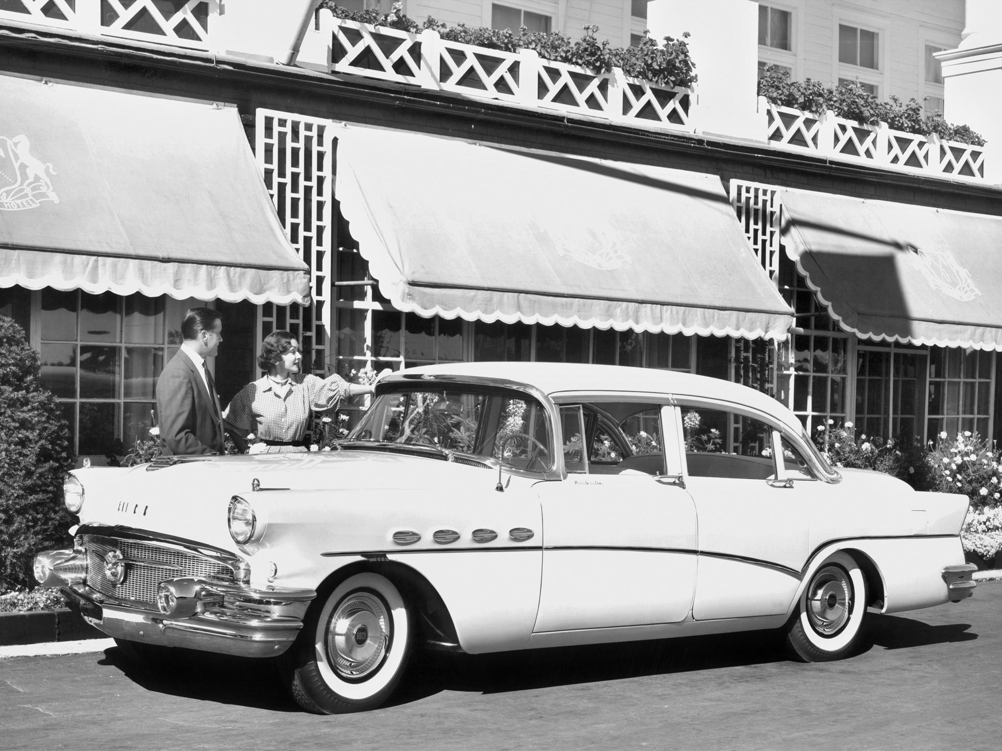 1957 Buick Century Caballero Stationwagon MaroonWht ...