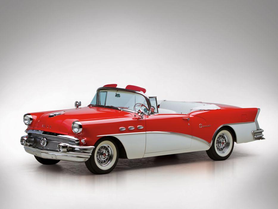 1956 Buick Special Convertible retro   f wallpaper
