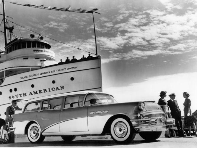 1956 Buick Special Estate StationWagon (49) retro wallpaper