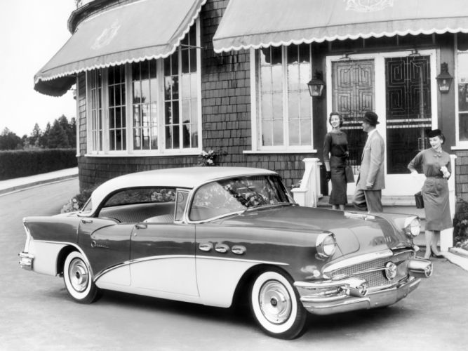 1956 Buick Special Hardtop Sedan (4439) retro wallpaper