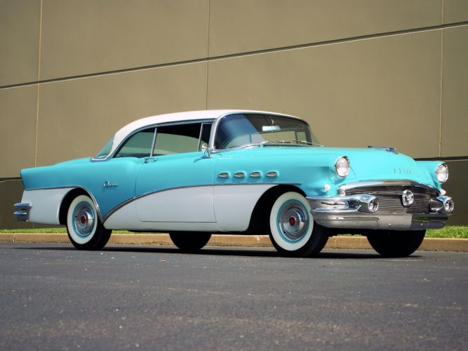1956 Buick Super Riviera Hardtop Coupe retro wallpaper