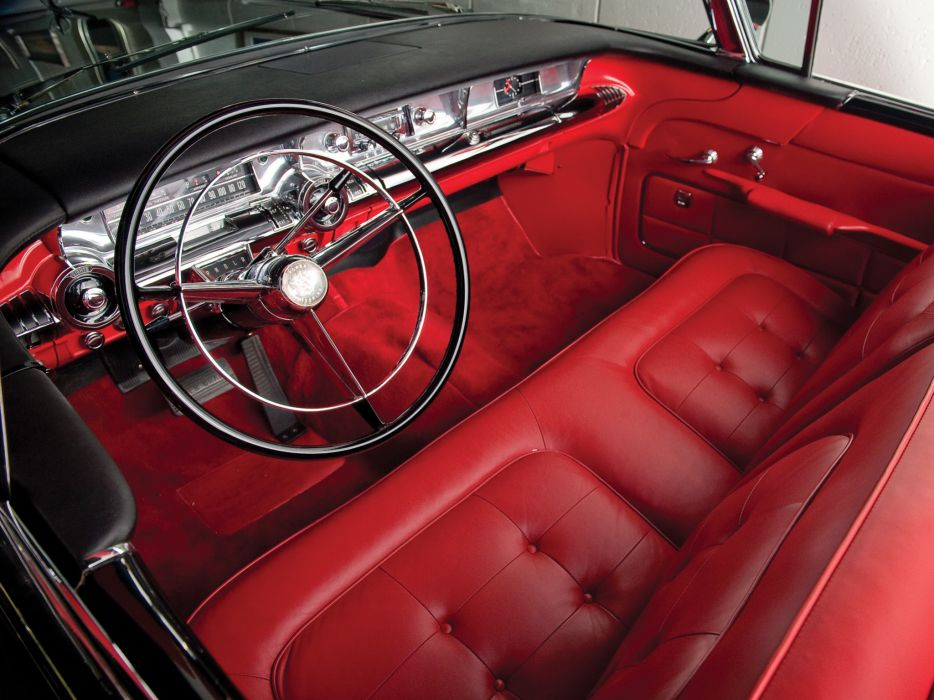 1957 Buick Roadmaster Convertible (76C) retro interior     g wallpaper