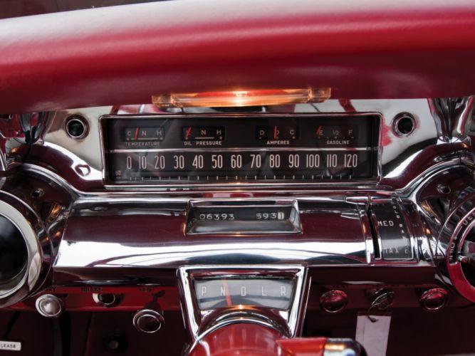 1957 Buick Roadmaster Convertible (76C) retro interior g wallpaper