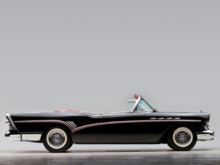 1957 Buick Roadmaster Convertible (76C) retro luxury g wallpaper