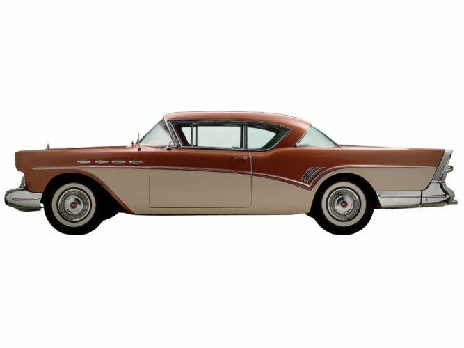 1957 Buick Roadmaster Riviera Hardtop Coupe (76A) retro f wallpaper