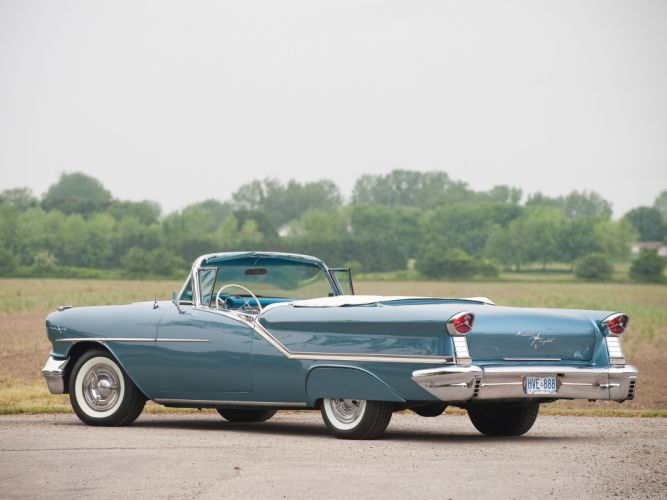 1957 Oldsmobile 98 Convertible luxury retro 9-8 g wallpaper