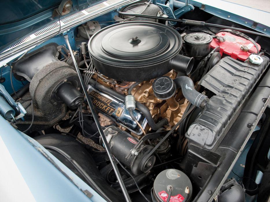 1957 Oldsmobile 98 Convertible luxury retro 9-8 engine     g wallpaper