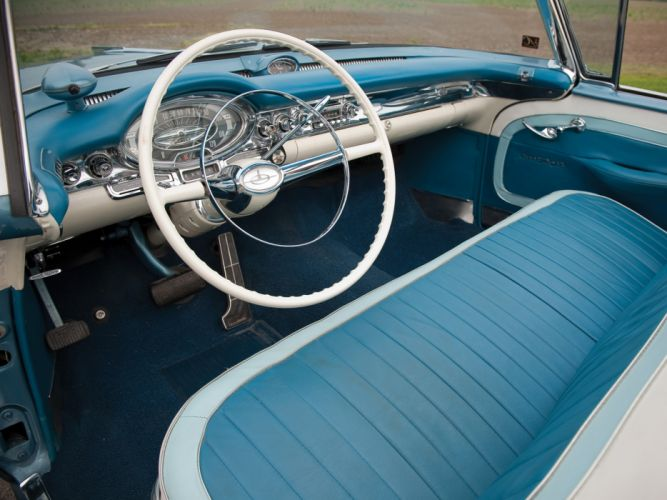1957 Oldsmobile 98 Convertible luxury retro 9-8 interior g wallpaper
