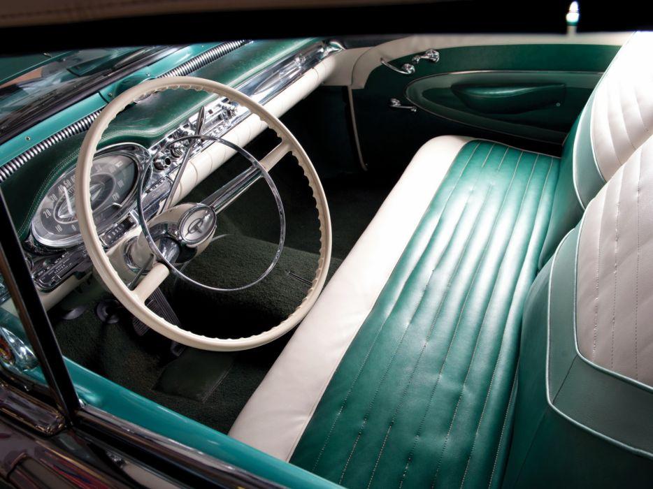 1957 Oldsmobile Super 88 J-2 Convertible retro 8-8 interior   g wallpaper