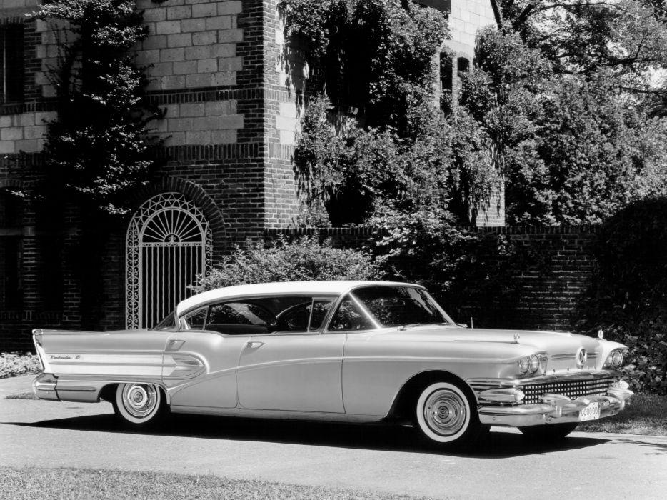 1958 Buick Roadmaster Hardtop Sedan (75-4739X) retro luxury      h wallpaper